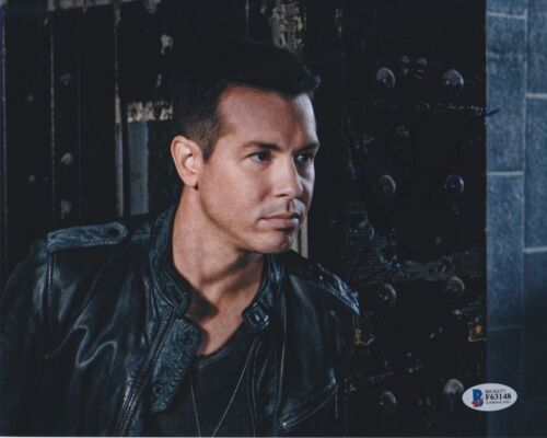 JON SEDA SIGNED 8X10 PHOTO CHICAGO PD P.D. BECKETT BAS AUTOGRAPH AUTO COA B