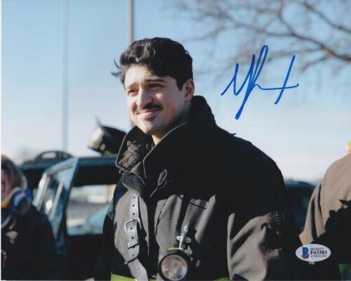 YURI SARDAROV SIGNED 8X10 PHOTO CHICAGO FIRE BECKETT BAS AUTOGRAPH AUTO COA A