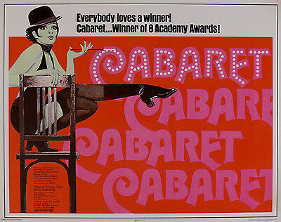 """CABARET"" ..Liza Minelli & Michael York Classic Movie Poster A1 A2 A3 A4Sizes"