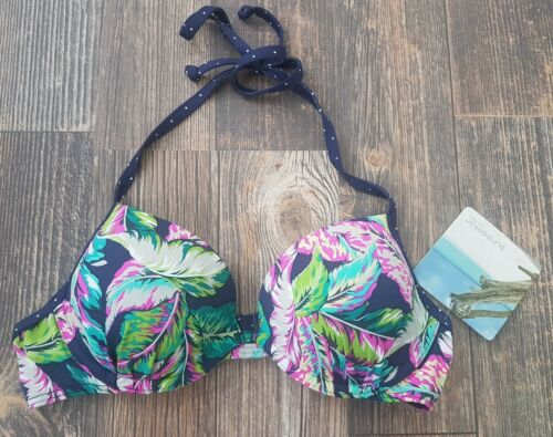 Sunseeker Push-Up Bikini Oberteil Gr. 38 Cup A neu 38A
