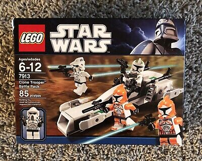 LEGO STAR WARS the clone wars 7913 CLONE TROOPER BATTLE PACK 100% complete