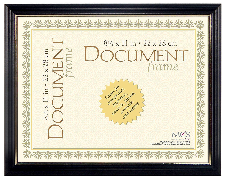 mcs university 8 1 2x11 document frame