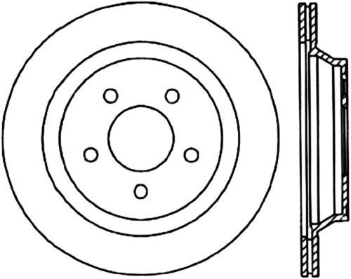 Disc Brake Rotor C Tek Standard Rear Centric 121 61046 Fits 94 01