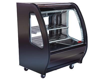 New 40 Refrigerated Nsf Display Case Torrey Pro-kold Ddc-40-b Bakery Deli 4929