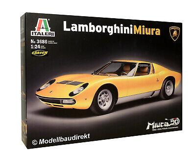 Lamborghini Miura 1:24 Italeri Bausatz 3686 NEU & OVP