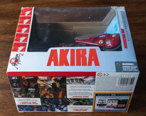 2001 McFarlane Akira Kaneda on Motorcycle Deluxe Boxed Set NIB
