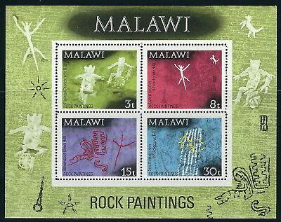 Malawi - Felszeichnungen postfrisch 1972 Block 27 Mi. 182-185