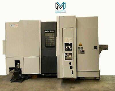 Dmg Mori Seiki Nhx-5000 Horizontal Machining Center 4 Axis 12000 Rpm Cnc - 2013