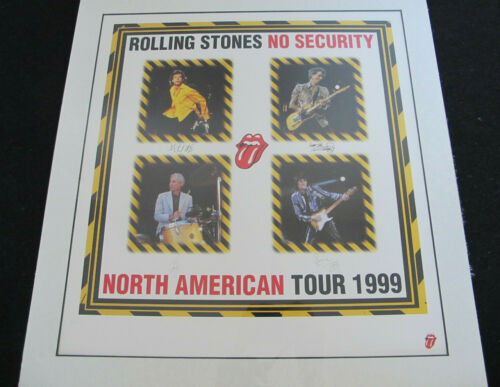 """Rolling Stones """"NO Security"""" Lmt Ed"""