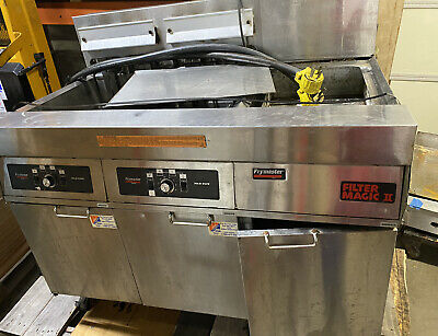 Frymaster Electric Fmh214sd Fryer Xtra Clean Filtration