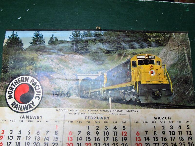 Northern Pacific 1966 Calendar