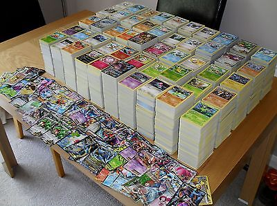 POKEMON - RANDOM CARDS BUNDLES - 5 x - 1000 x - NEW - RARE / HOLO / MIXED LOT