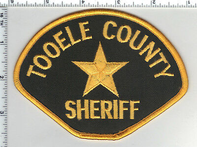 Tooele County Sheriff (Utah) Shoulder Patch from the 1980's