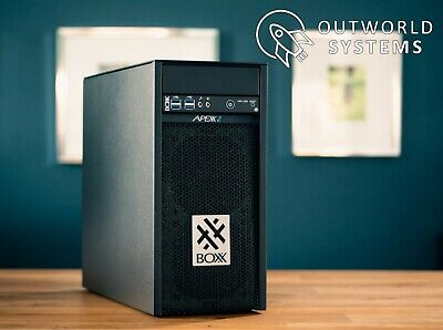 BOXX Apexx 2 Custom PC, i7-7700k liquid cooled, 32GB DDR4, 512GB Samsung 960 Pro
