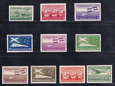 DOMINICA STAMP AIRMAIL MNH/OG STAMPS COLLECTION LOT  #1