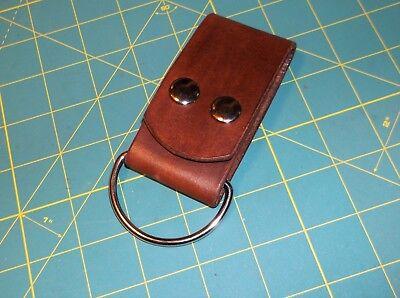 """Leather Belt Strap, Knife Sheath Dangler, 2"""" D ring fit 3"""" Belt, Pack Strap,"""