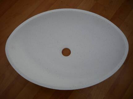 New Castano Marco Oval Solid Surface Above Counter Basins