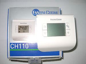 Termostato ambiente digitale fantini cosmi ch110 a for Termostato fantini cosmi ch110