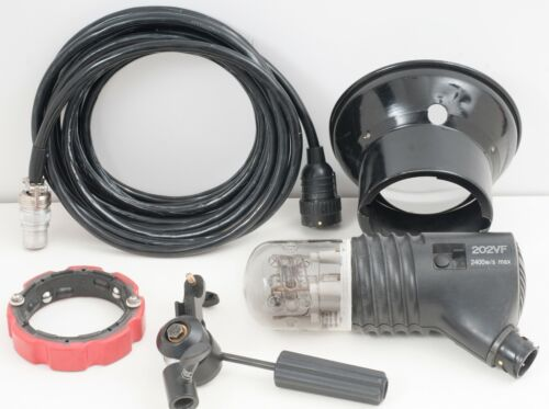 Speedotron Black Line 202VF Studio Strobe Flash Used VGC 2400 Watt Sec Light Uni