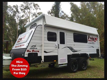 HiP Jayco Starcraft Poptop Caravan Hire Narangba Caboolture Area Preview