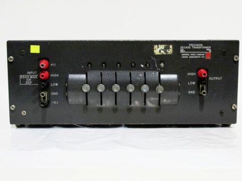 General Radio Type 1493-A Precision Decade Transformer