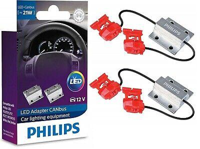 Philips LED Load Equalizer Resistor 7440 Rear Turn Signal Hyper Flash Canceler