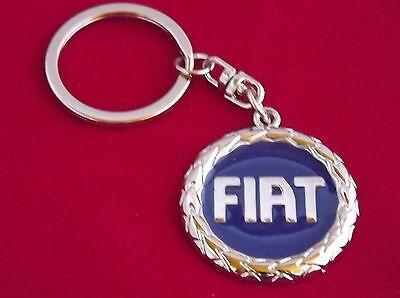 Maße Emblem 36mm Auto & Motorrad: Teile Fiat Schlüsselanhänger Logo Rot Glasiert 70er Jahre