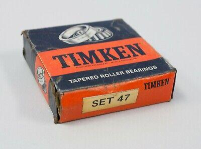 Timken Tapered Roller Bearings Set 47 Lm102949