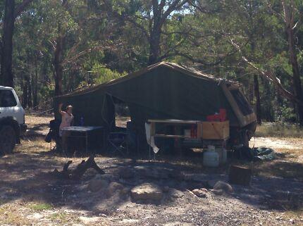 Cameron's semi off-road camper trailer