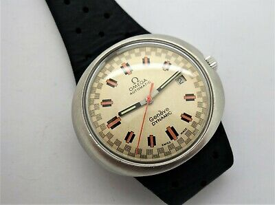Omega Gents vintage watch Dynamic Racing dial RARE DIAL