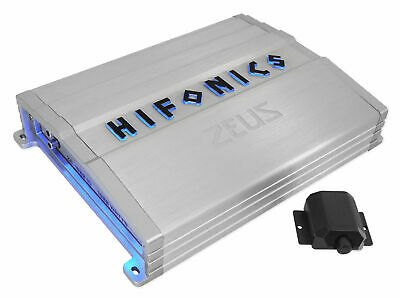 Hifonics ZG-1200.1D ZEUS Gamma 1200 Watt Mono Amplifier Car Audio Class D Amp