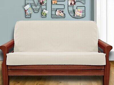 NEW - Natural FUTON COVER - Full Size MADE IN USA Cotton Cotton Futon Cover