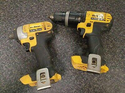 (Pa2) Dewalt Drill Driver Set 14.4V 1.5Ah Lithium Battery + Charger