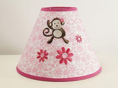 Lampenschirm Affe Kinderzimmer Tiere Lampe mehrfarbig Leuchte Baby Deko Baby