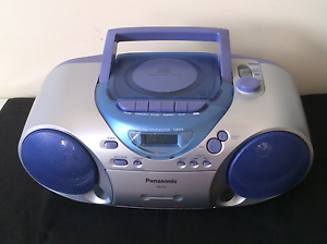 Panasonic Boombox CD/Tape player - RX-D12 Bellara Caboolture Area Preview
