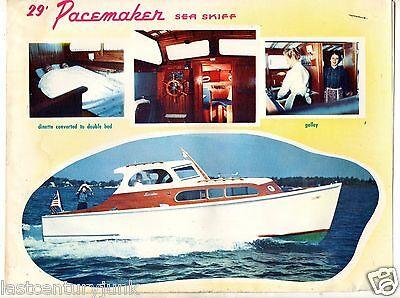 Dealer Promotional Brochure For The Sea Skiff Pacmaker 29'