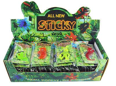 😊 8 x Gruselfiguren Halloween Schleimfiguren Sticky  Glibber als Mitgebsel
