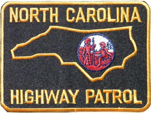 NORTH CAROLINA HIGHWAY PATROL STATE POLICE PATCH