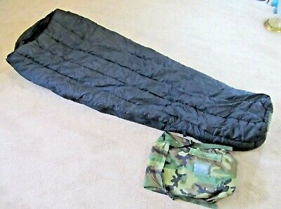 USGI Military 10° Intermediate Cold Weather ICW MUMMY SLEEPING BAG Green Fair