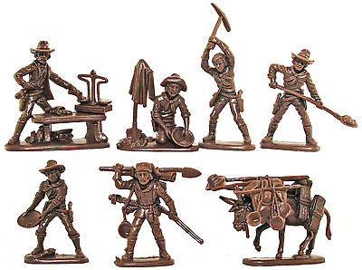 Atlantic Gold Rush   Incomplete Set 1210   Mint In Box   60Mm Scale