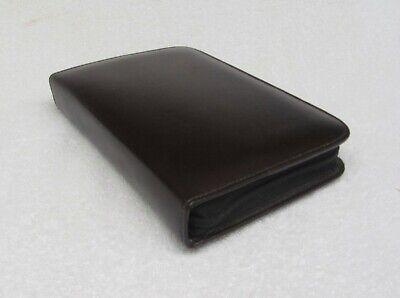 Unused Burgundy Leather Zipper Binderplanner Inserts Em Int Franklin Style