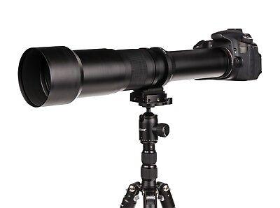 Dörr Telezoom Teleobjektiv 650-1300mm für Sony Alpha 290 290l 290y 300 usw....