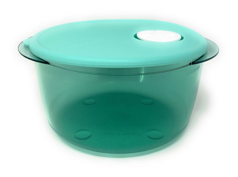 Tupperware Vent N Serve Microwave Container 8 1/2 Cups NEW