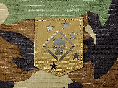 Infrared Marine Raiders Tan Patch MARSOC USMC Marine Corps Semper Fi Hook