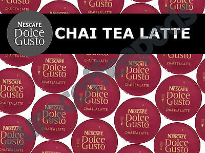 Dolce Gusto Chai Tea Latte Pods 100 Capsules 50 Coffee / Milk Sold Loose