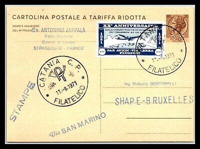 GP GOLDPATH: ITALY POSTAL CARD 1971 _CV695_P05