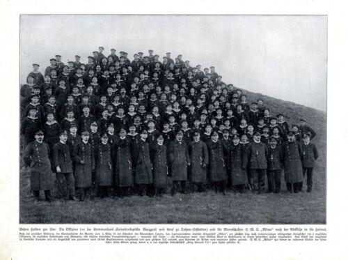 Crew of German warship SMS Move Mowe XL 1916 photo illustratin Dohna-Schlodien