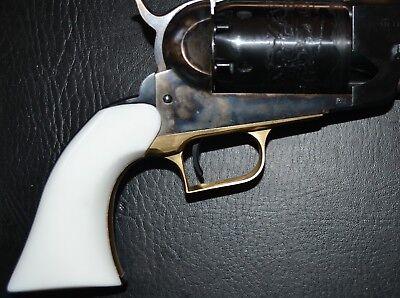 Used, Uberti 1847 Walker pistol grip pure white plastic for sale  Gabbs