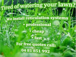 Reticulation system installation for $70/hour Balga Stirling Area Preview