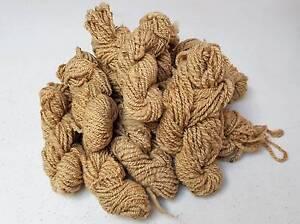 Knitting Wool - Natural homespun. Richmond Yarra Area Preview